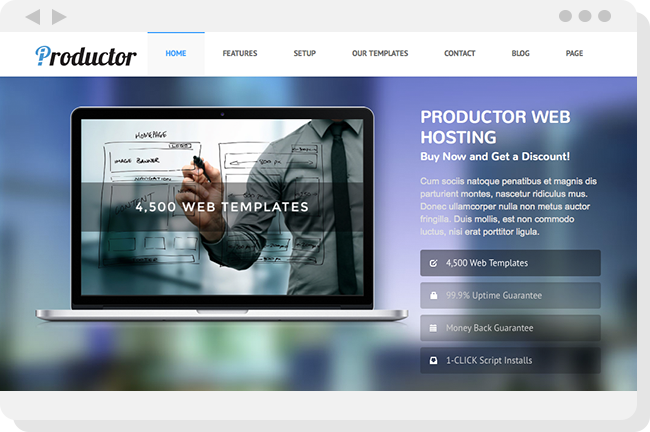 Productor Theme