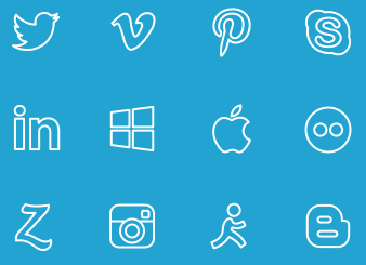 Outline-Social-Icons